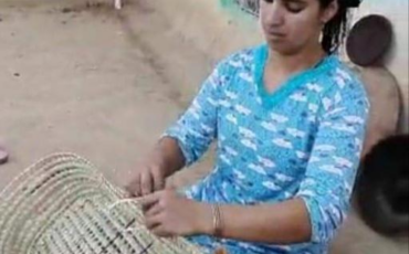 Cane and palm crafts in Moulay Bouchta Khamar